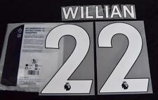 Chelsea Willian 22 Premier League Football Shirt Name Set 2017/18 Sporting ID