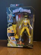 2016 Bandai Mighty Morphin Power Rangers Legacy Collection Series 2 Yellow Range