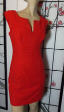 REVIEW size 8 red  cotton blend NORI dress..NWT