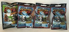 STAR WARS FIGHTER PODS SERIES 2 & 4 BLIND BAG LOT of 4 PACKAGES TOY HASBRO