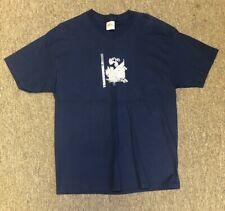 """New"" TRANSWORLD BMX Mens Abubaca T-Shirt - Size Large Navy Blue NOS"