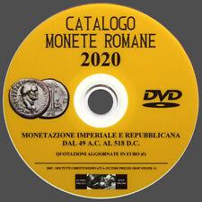 CATALOGO MONETE ROMANE 2020 SU DVD - NUOVO - IN LINGUA ITALIANA - (ORIGINALE)