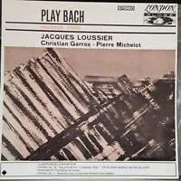 Jacques Loussier - Play Bach 4 - 1963 jazz classical fusion LP record excellent