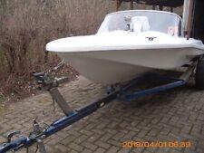 Sportboot, Motorboot mit 6 PS Außenborder
