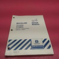 NEW HOLLAND TRACTOR REPAIR MANUAL TC23DA, TC26DA SECTION 55, 90 (LT243)