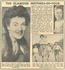 1953 Mrs Peggy Powell South Connelly Pyle Glamorgan Glamorous Mother Of Four