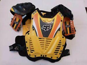 VINTAGE FOX RACING CHEST PROTECTOR MOTORBIKE MOTOCROSS VMX DIRT BIKE VEST