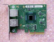 Fujitsu (D2735-A12 GS 2) Dual-Port PCI-e x4 Gigabit Ethernet Network Adapter LP