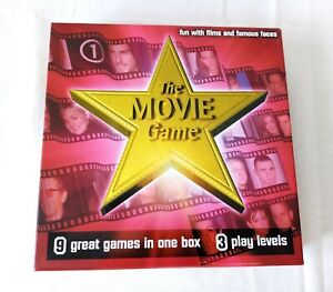 THE MOVIE GAME BY SMART COOKIES GAMES 2002 *100% COMPLETE (SEALED PACK)