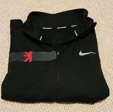 Nike Dri-Fit Long Sleeved Half Zip Running T-Shirt Women's Large Berlin Marathon