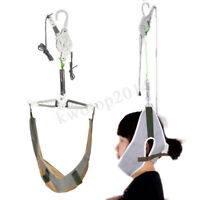 Over Door Hang Neck Cervical Stretch Traction Kit Health Gear Brace Pain Reli