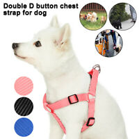 No Pull Dog Harness Vest Collar Chest Strap Step-in Lead Walking Leash Medium XL