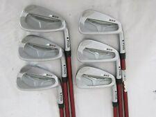 Ping S55 (Black Dot) 5-PW Iron Set - TFC-149 Seniors (SR) Graphite Irons Used RH