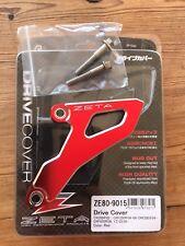 HONDA  CRF 250 X  2004-2017  ZETA DRIVE COVER SPROCKET SPROCK GUARD RED