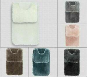 Anti-Slip SHAGGY RUG Fluffy Rugs Super Soft BATH Mat Living Room Bedroom Carpet