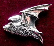 Witchcraft  Pewter Gothic Pipestrelle Bat Brooch Pin