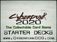 Cyberpunk 2020 CCG sealed Starter Box    L@@K!!