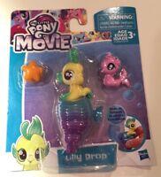My Little Pony The Movie Baby Sea Pony Lily Drop NEW