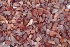 15 lbs Natural  Ruby Red Aquarium Fish Tank stones