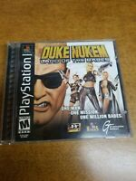 Duke Nukem: Land of the Babes (Sony PlayStation 1,) Black Label (CIB) Tested!