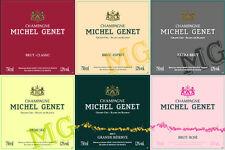 6 BT CHAMPAGNE GRAND CRU BLANC DE BLANC ORIGINE  2009 MICHEL GENET