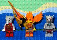 Lego Legends of Chima Winzar,Worriz & Fluminox Minifigure
