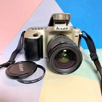 NIKON F50 35mm SLR Camera + Nikkor 28-80mm F:3.5-5.6D Lens Built In Flash! Lomo