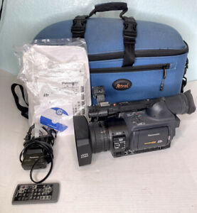 Panasonic Camcorder AG-HVX200P 3-CCD P2/DVCPRO HD w/ Case + Manuals   LOW HOURS!