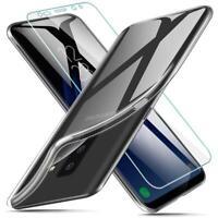 Hülle Für Samsung Galaxy S9 Schutz Handyhülle Case Cover Klar + Display Glas 9H