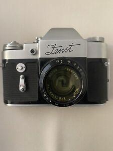 Zenit Camera Industar 50 Lens Russian