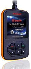 iCarsoft OBD2 OBDII Scanner Tool Code Reader ECU DTC CEL Mazda Mitsubishi NEW