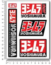 Yoshimura motorcycle decals quality stickers Suzuki gsxr Honda cbr rr exhaust