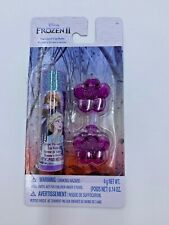 Frozen II grape flavored lip balm and 2 hair clips by TownleyGirl