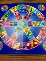 Trivial Pursuit Junior Board Game Board- Board Game Part Replacement