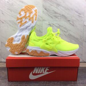 Nike React Presto Volt Gum White AV2605-702 Running Shoes Men's Size 8.5