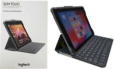 Capa Folio Logitech Slim teclado Bluetooth integrado para iPad 5 & 6 920-009052
