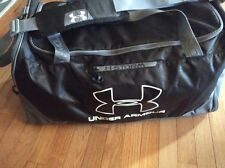Under Armour Storm Black Gray Large Duffle Sports Bag