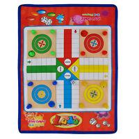 Ludo Mat Game kids game traditional ludo set family fun Adult toy birthday game