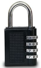 4 DIGIT COMBINATION PADLOCK SUITABLE FOR LUGGAGE LOCKER TRAVEL OR TOOLBOX