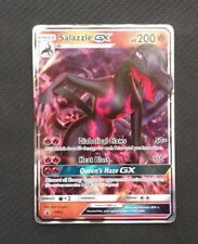 Salazzle SM63 Holo Rare Pokemon Sun and Moon Black Star Promo Near Mint