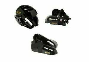 ProForce Black Sparring Gear Boys Girls Child Adult Head Gloves Foot Pads Karate