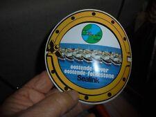 Ancien Autocollant Stiker des Ferrys SEALINK Ooostende-Dover ,Oostende-Folkstone