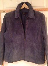 Women's XL Pritti Purple Suede Jacket