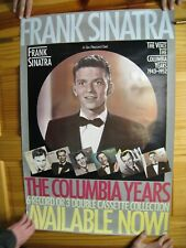 Frank Sinatra Poster The Columbia Years 6 Record Set Face Shot
