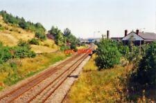 PHOTO  FENTON RAILWAY STATION STAFFORDSHIRE SITE 1995 NSR DERBY - UTTOXETER - ST