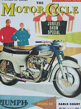 THE MOTORCYCLE SUPPLEMENT APR 1992 LONDON SHOW REPORT FROM 1960