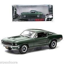 Bullitt 1968 Ford Mustang Fastback 1:43 Scale Die-Cast Metal Vehicle-NIB