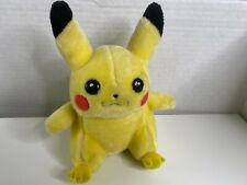 Pokemon Pikachu 1998 Nintendo  Plush Toy Hasbro 9""