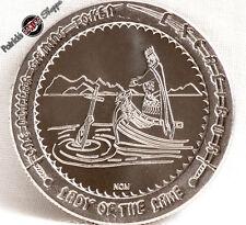 "$1 SLOT TOKEN COIN EXCALIBUR CASINO ""LADY OF THE LAKE"" 1990 NCM MINT LAS VEGAS"