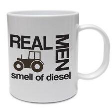 Divertente tazza da allevamento-I VERI uomini odore di Diesel-DIVERTENTE IDEA REGALO Contadino/Trattore